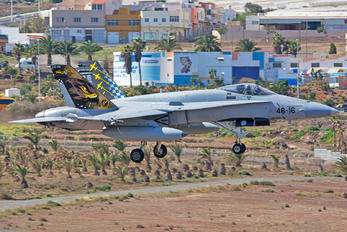 C.15-88 - Spain - Air Force McDonnell Douglas F/A-18A Hornet