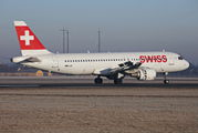 HB-IJF - Swiss Airbus A320 aircraft