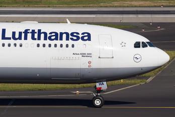 D-AIHA - Lufthansa Airbus A340-600