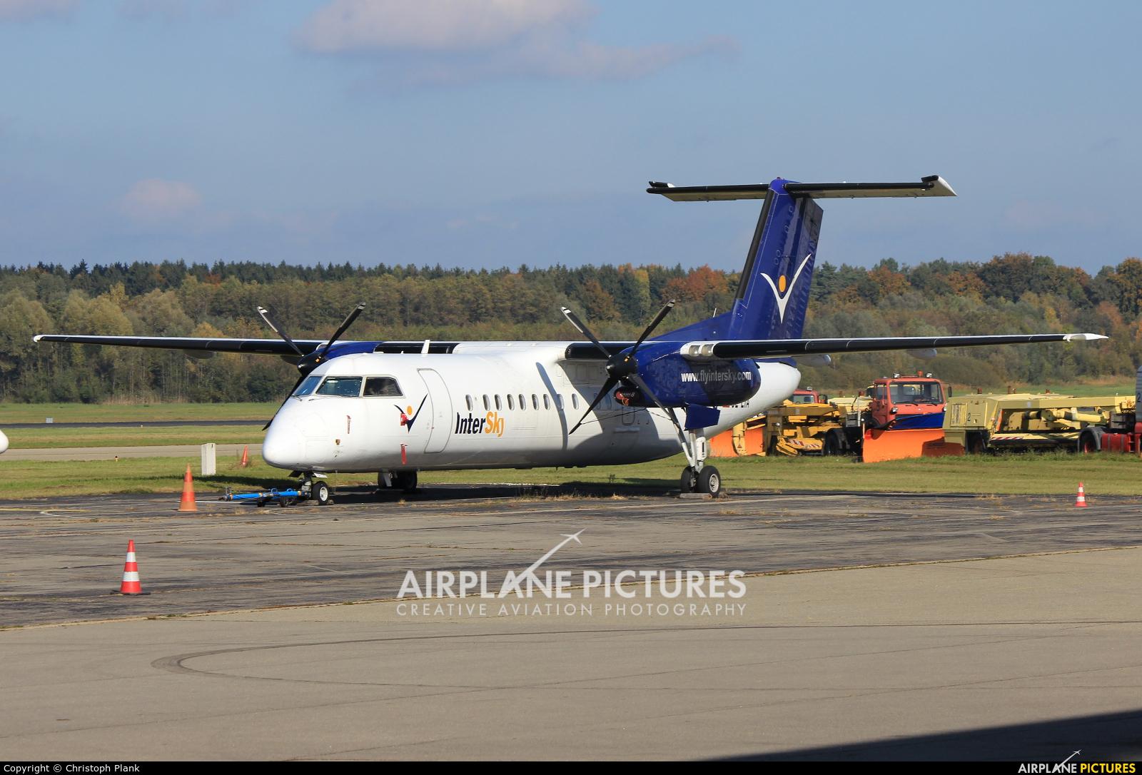 Intersky OE-LIA aircraft at Friedrichshafen