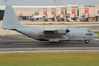 163591 - USA - Navy Lockheed C-130T Hercules