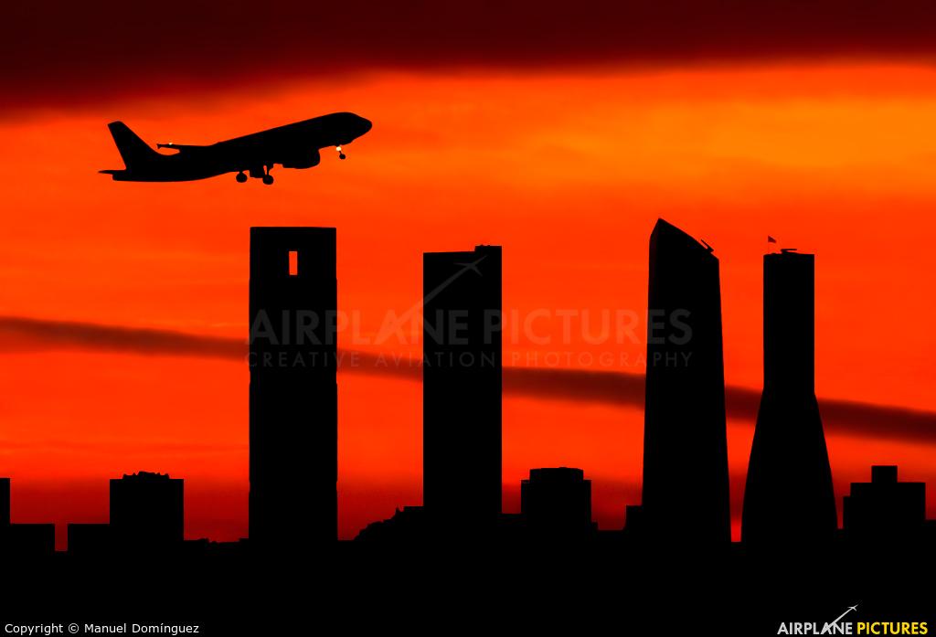 Iberia Express EC-ILQ aircraft at Madrid - Barajas