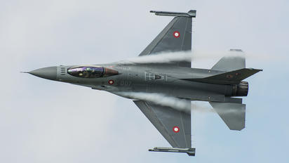 E-007 - Denmark - Air Force General Dynamics F-16A Fighting Falcon