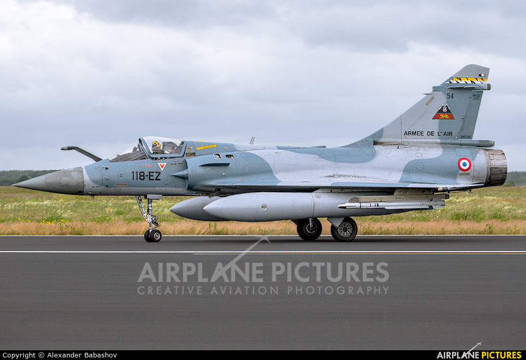 France - Air Force 118-EZ aircraft at Schleswig-Jagel