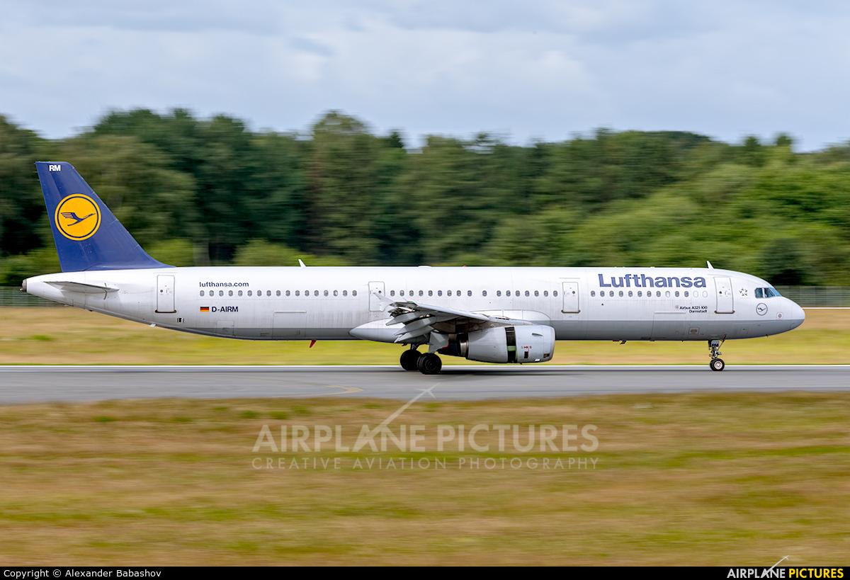 Lufthansa D-AIRM aircraft at Hamburg - Fuhlsbüttel