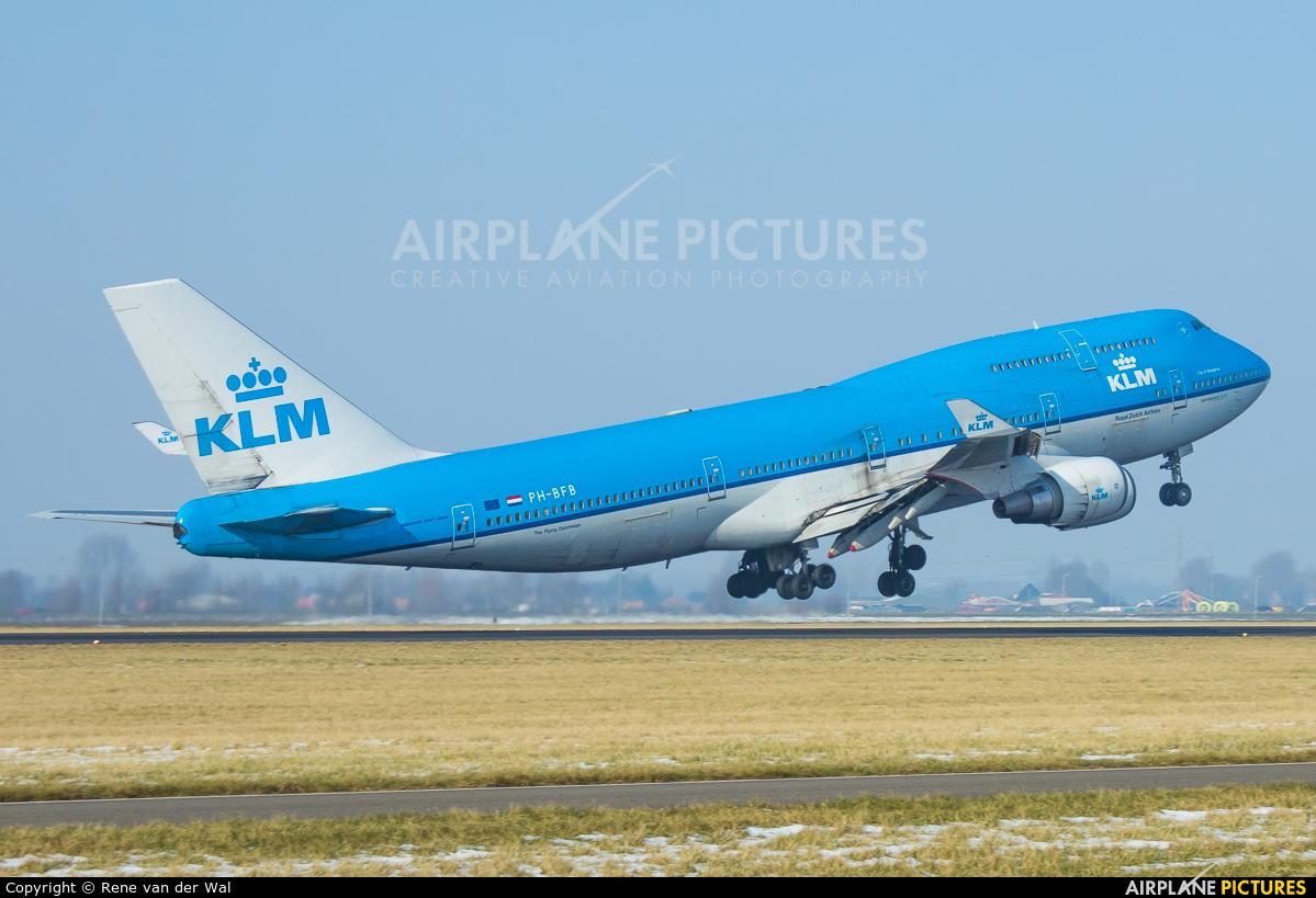 KLM PH-BFB aircraft at Amsterdam - Schiphol