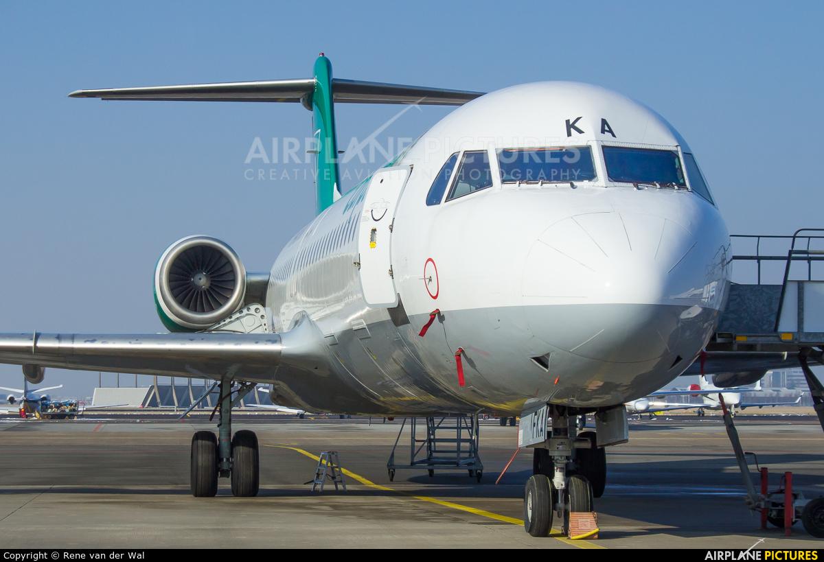 Carpatair YR-FKA aircraft at Amsterdam - Schiphol