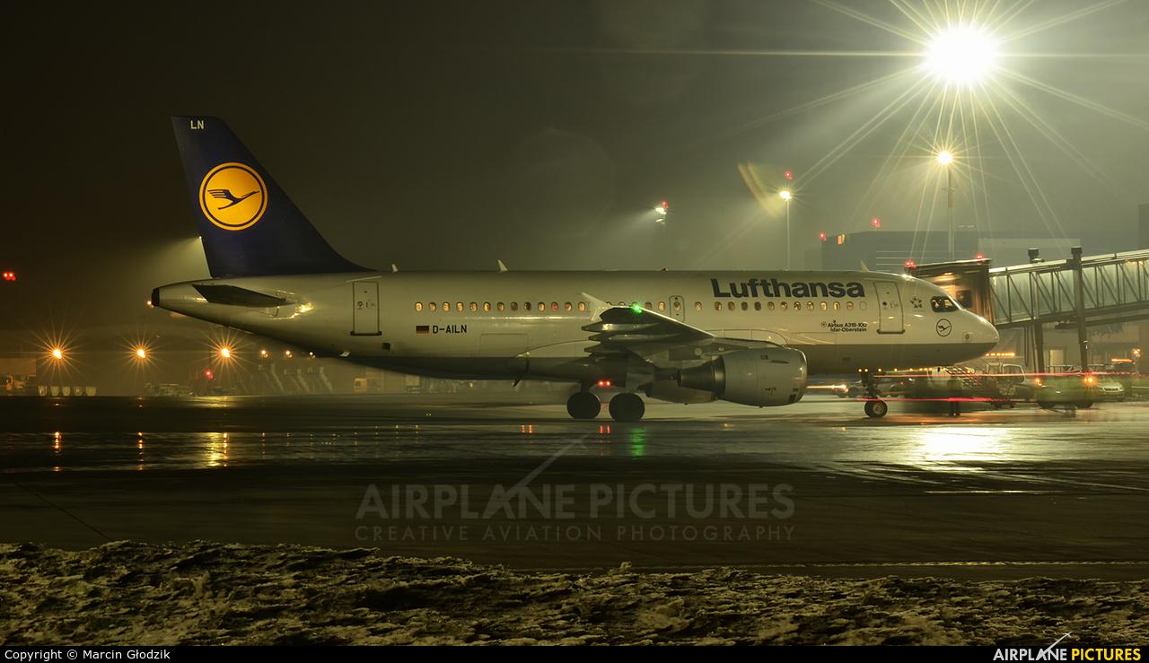 Lufthansa D-AILN aircraft at Kraków - John Paul II Intl
