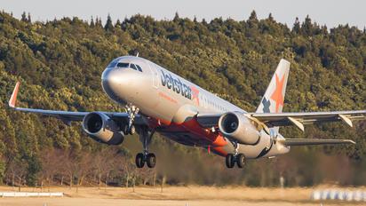 JA20JJ - Jetstar Japan Airbus A320