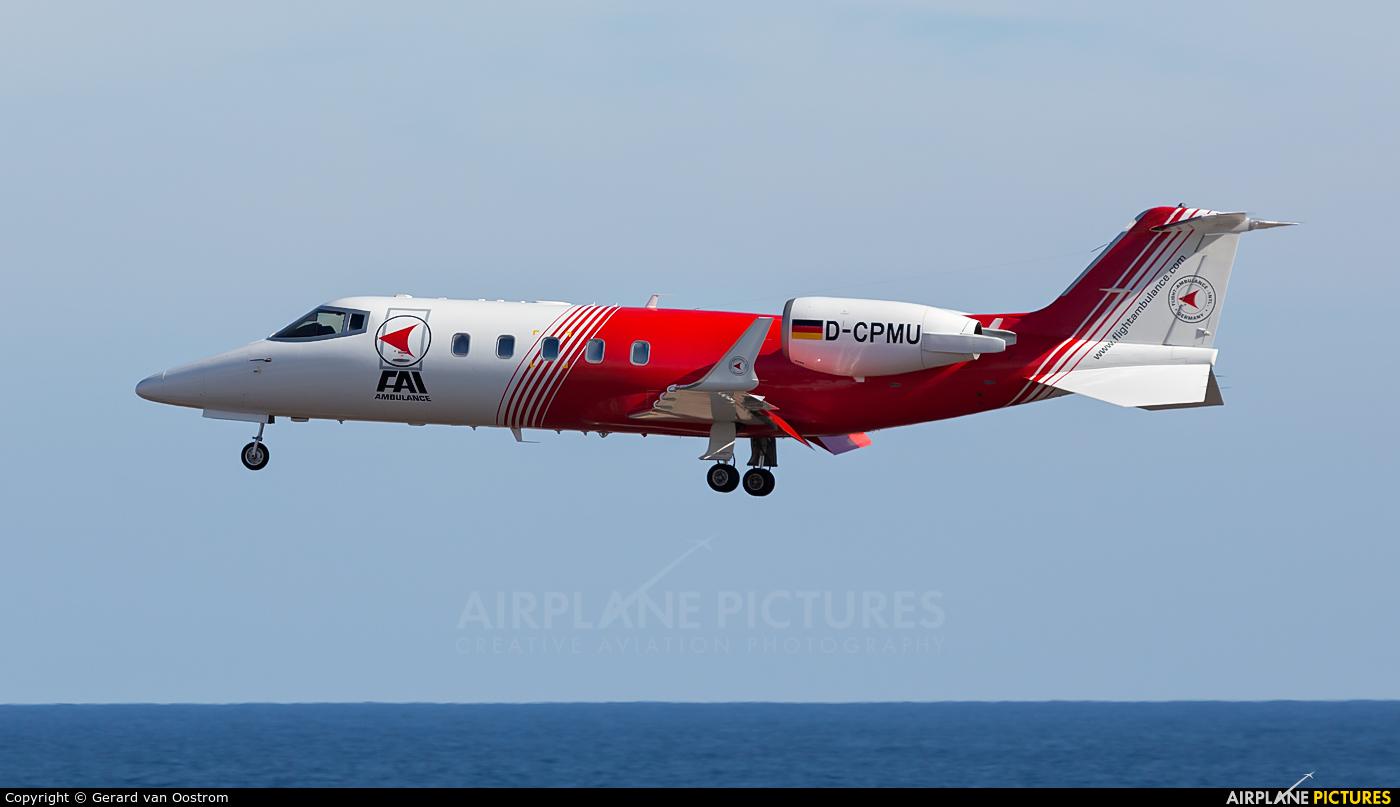 FAI - Flight Ambulance International D-CPMU aircraft at Lanzarote - Arrecife