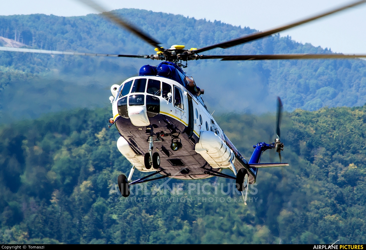 Slovakia - Police OM-BYU aircraft at Sliač