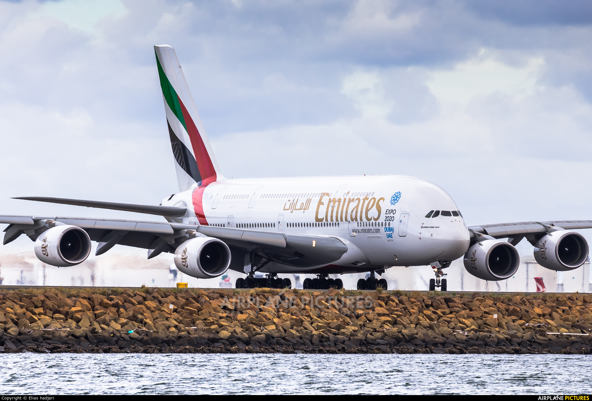 Emirates Airlines A6-EEL aircraft at Sydney - Kingsford Smith Intl, NSW