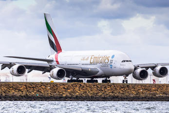 A6-EEL - Emirates Airlines Airbus A380