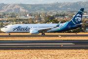 N596AS - Alaska Airlines Boeing 737-800 aircraft