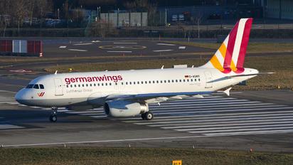 D-AGWX - Germanwings Airbus A319