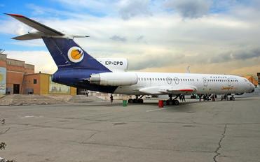 EP-CPO - Caspian Airlines Tupolev Tu-154M