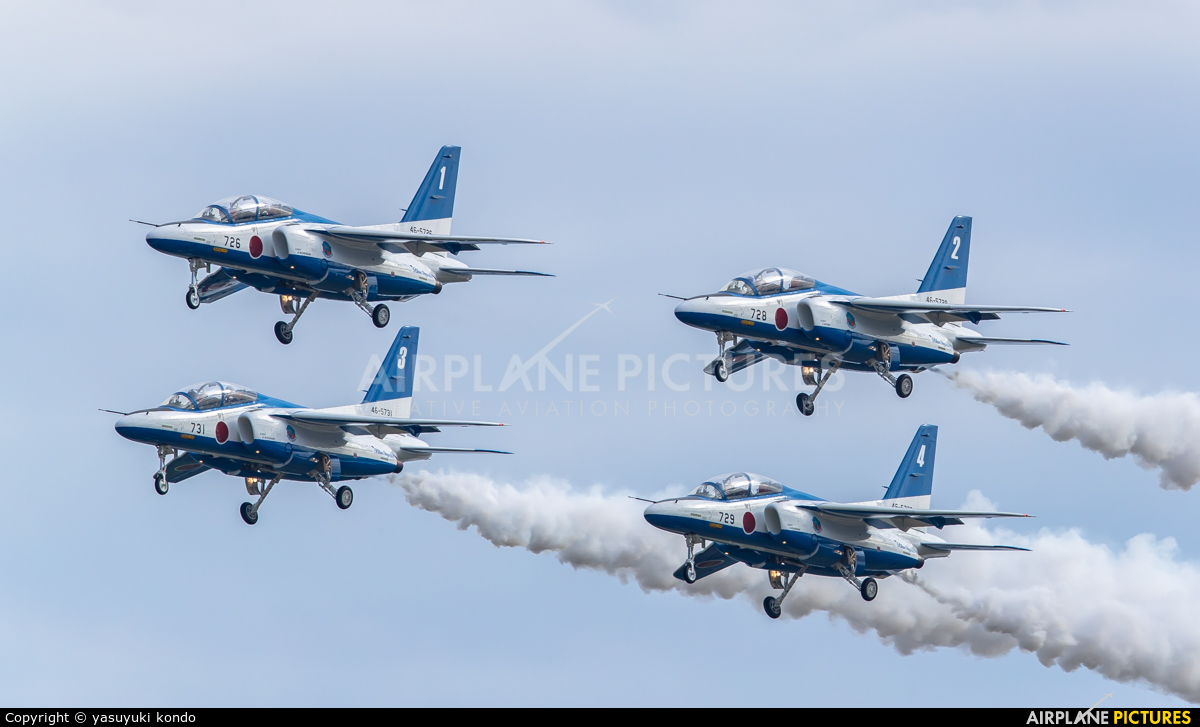 Japan - ASDF: Blue Impulse 46-5731 aircraft at Nyutabaru AB