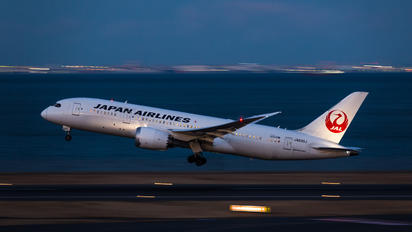 JA830J - JAL - Japan Airlines Boeing 787-8 Dreamliner
