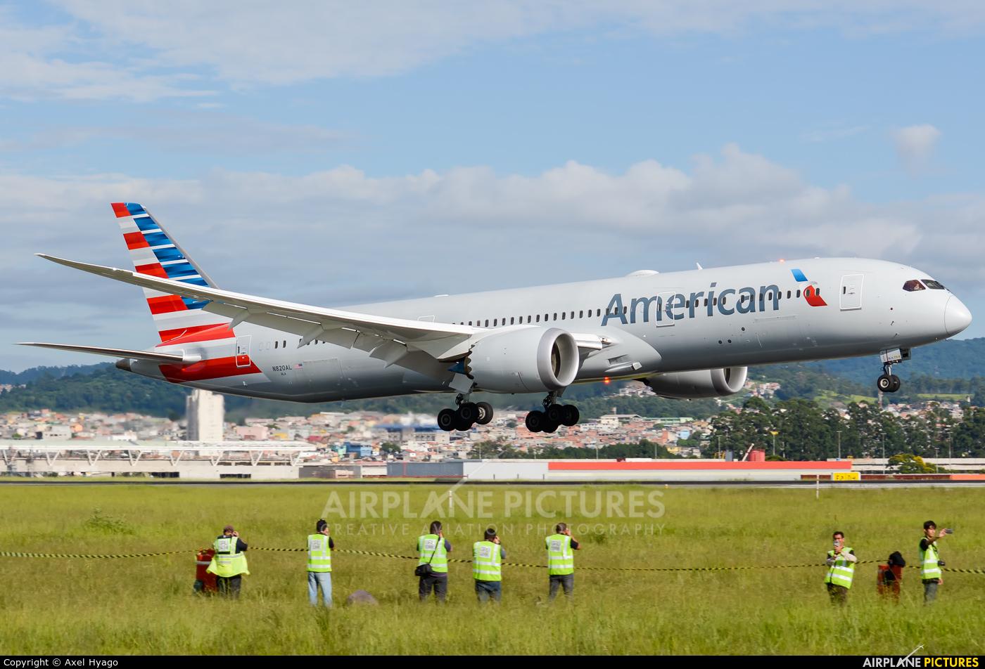 American Airlines N820AL aircraft at São Paulo - Guarulhos