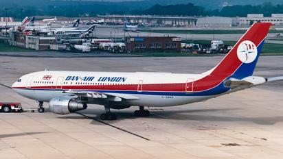 G-BMNB - Dan Air London Airbus A300