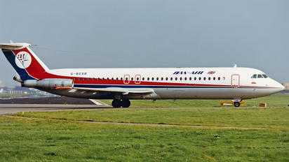 G-BCXR - Dan Air London BAC 111