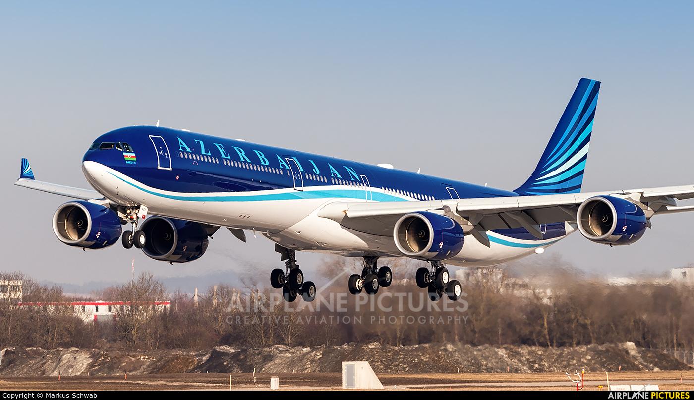 Azerbaijan - Government 4K-AI08 aircraft at Munich