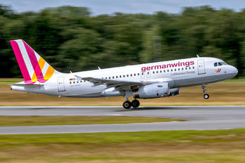 D-AGWR - Germanwings Airbus A319