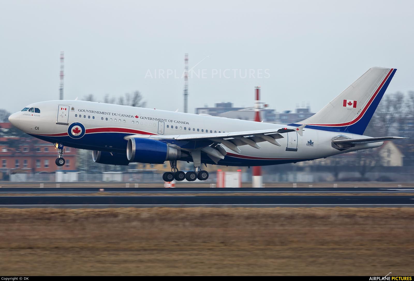 Canada - Air Force 15001 aircraft at Berlin - Tegel