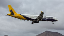 G-ZBAJ - Monarch Airlines Airbus A321 aircraft
