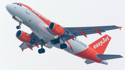 G-EZFN - easyJet Airbus A319