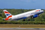 G-EUPY - British Airways Airbus A319 aircraft