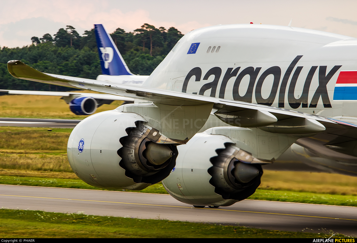 Cargolux LX-VCD aircraft at Luxembourg - Findel