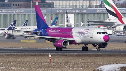 HA-LWD - Wizz Air Airbus A320