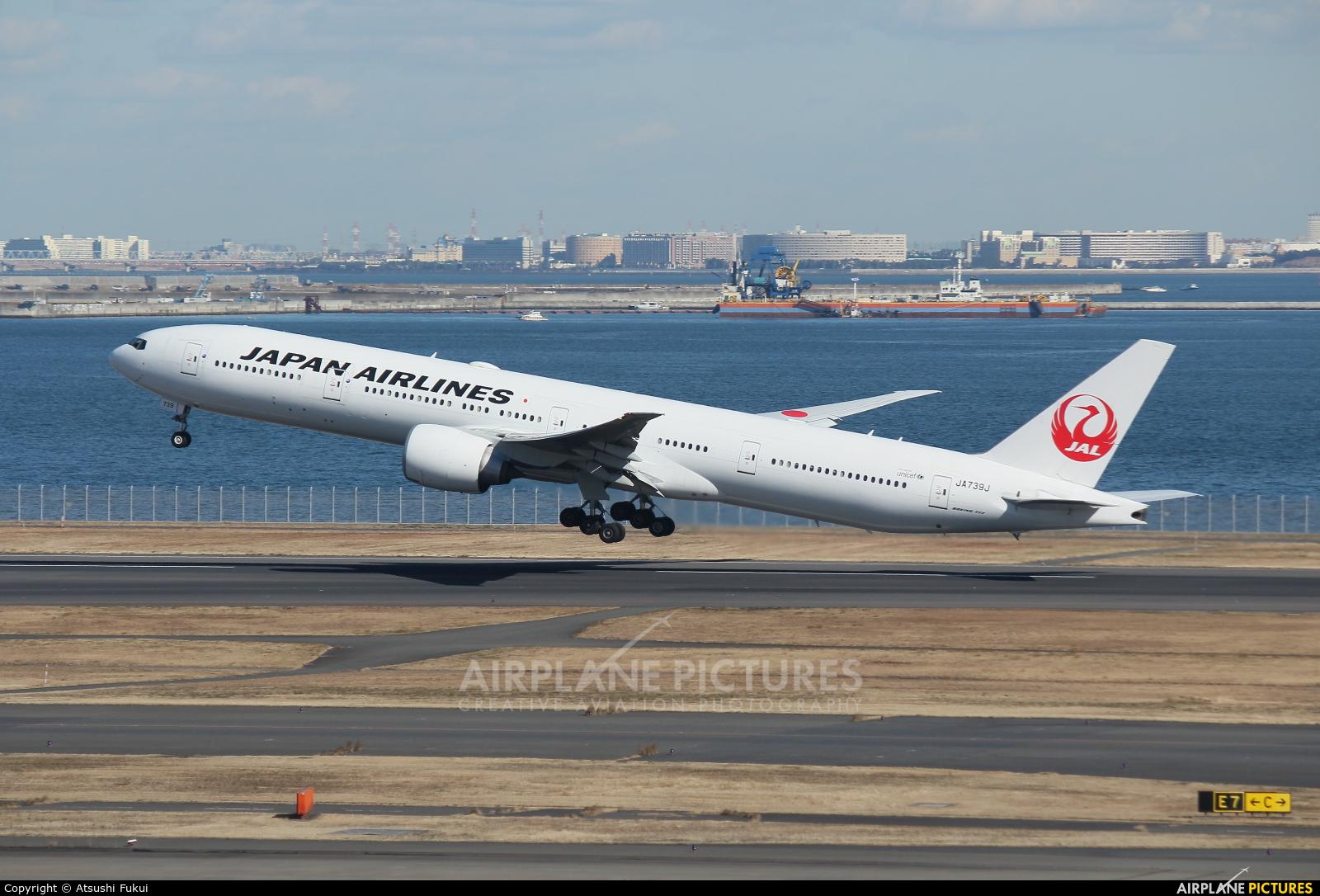 JAL - Japan Airlines JA739J aircraft at Tokyo - Haneda Intl