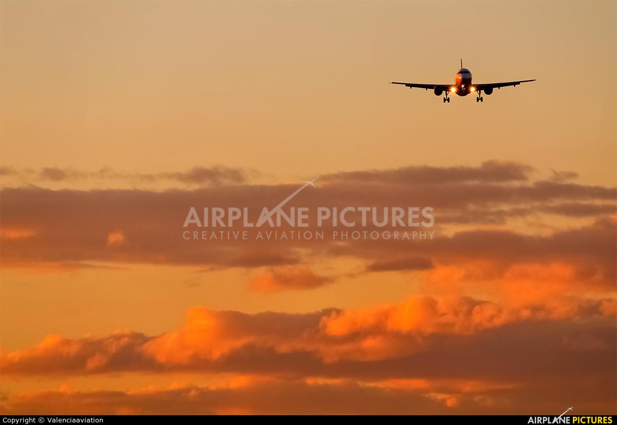 Vueling Airlines EC-HHA aircraft at Valencia
