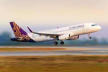 VT-TTL - Vistara Airbus A320