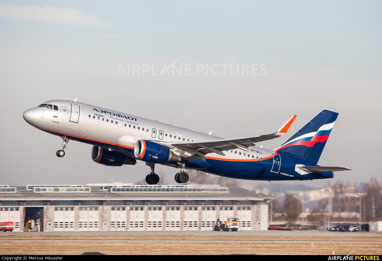 Aeroflot VP-BLL aircraft at Stuttgart