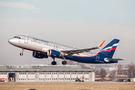 Aeroflot Airbus A320 VP-BLL at Stuttgart airport