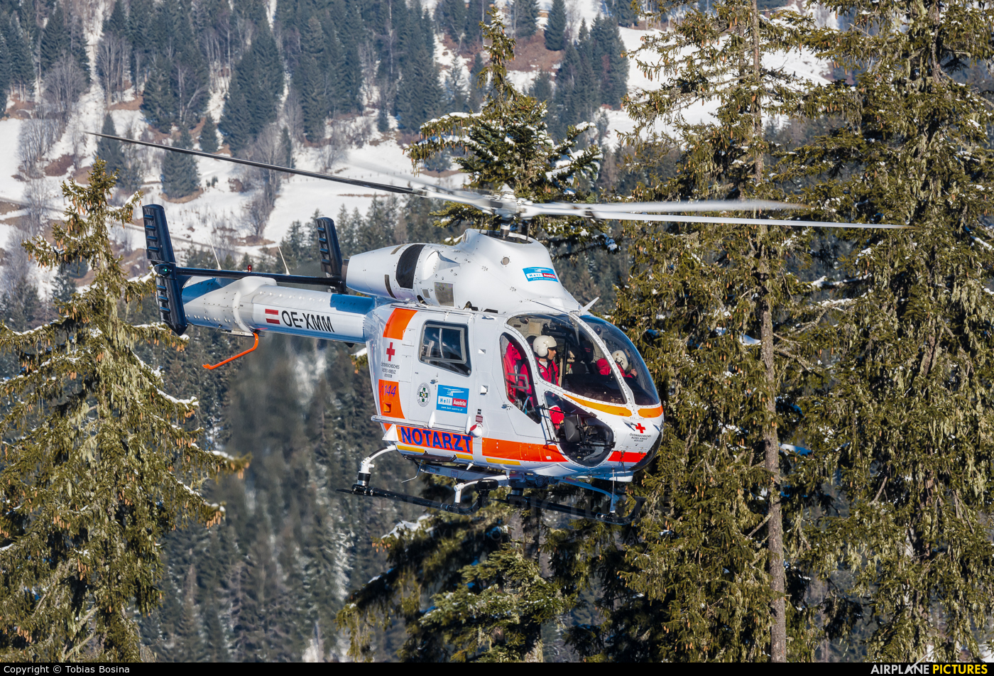 Heli Austria OE-XMM aircraft at Off Airport - Austria