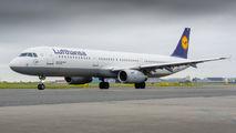 D-AISZ - Lufthansa Airbus A321 aircraft