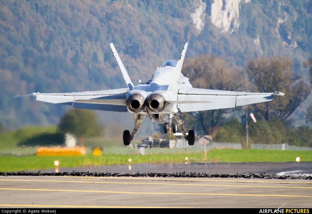 Switzerland - Air Force J-5005 aircraft at Meiringen