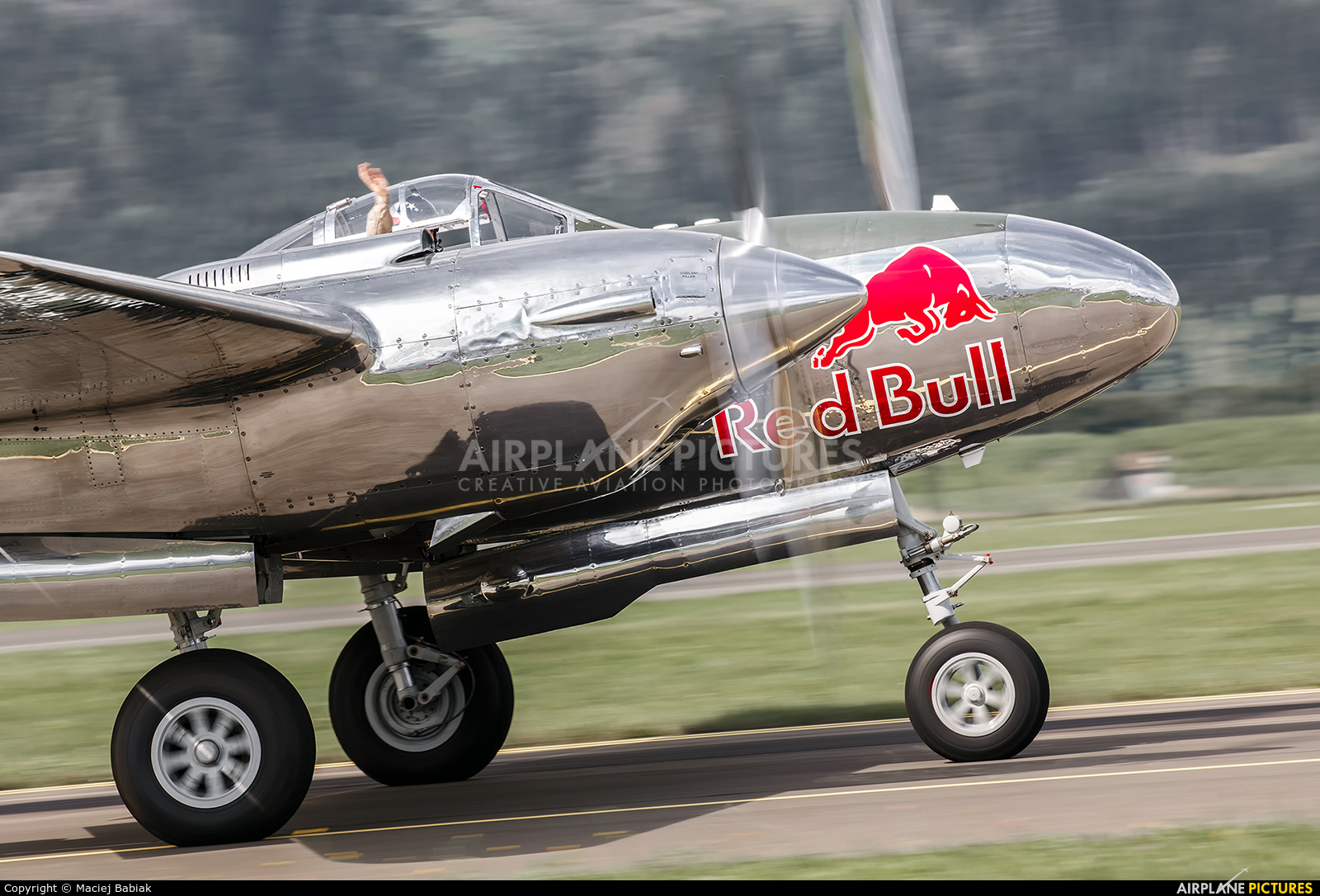 The Flying Bulls N25Y aircraft at Zeltweg