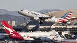 US Airways Airbus A319 N802AW at Los Angeles Intl airport