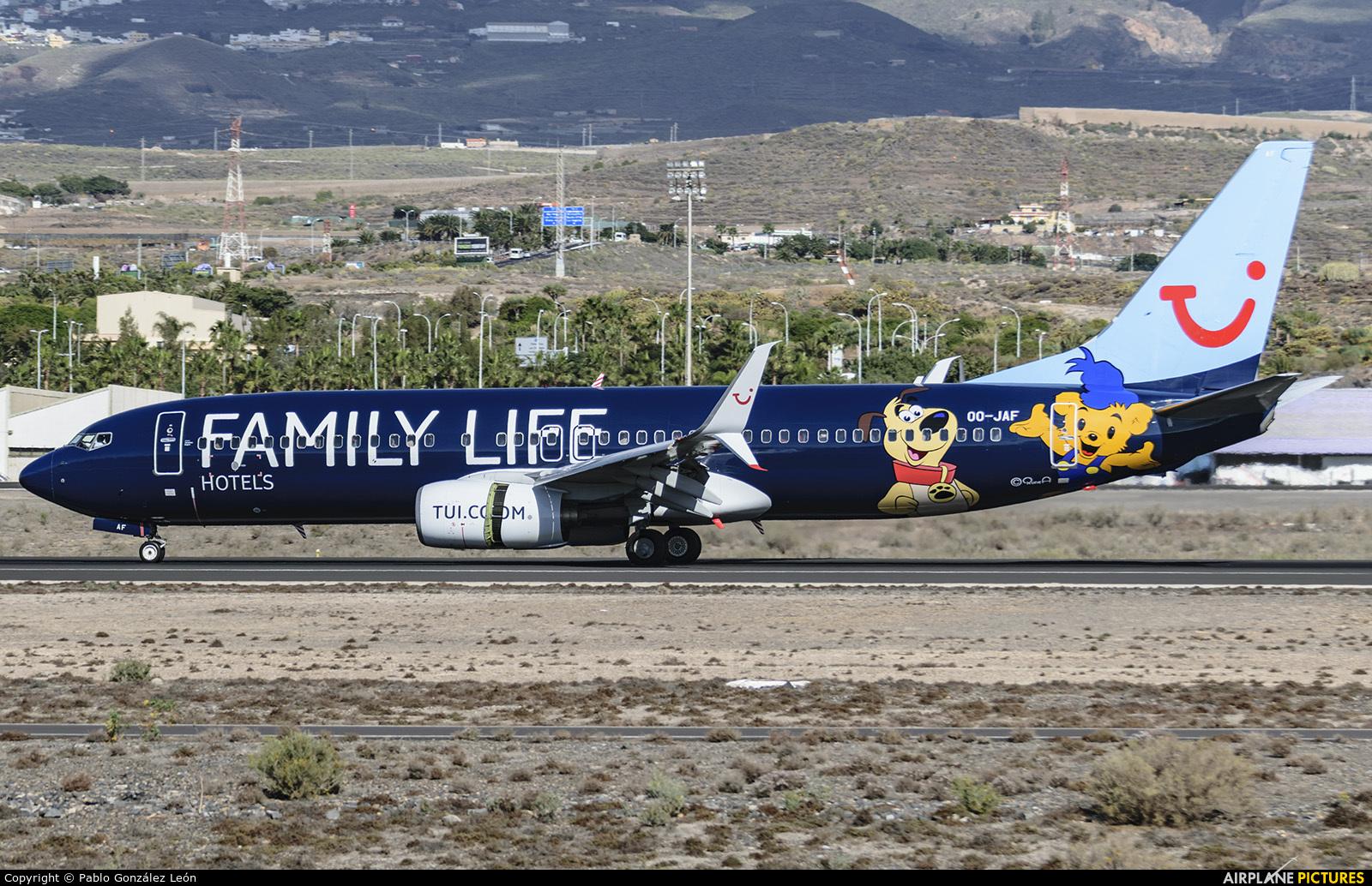 Jetairfly (TUI Airlines Belgium) OO-JAF aircraft at Tenerife Sur - Reina Sofia