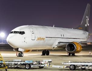 OY-JTN - Jet Time Boeing 737-4Q8