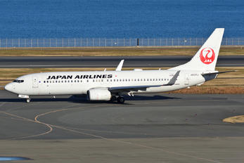 JA337J - JAL - Japan Airlines Boeing 737-800