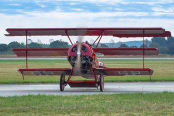 OK-UAA90 - Private Fokker DR.1 Triplane (replica)