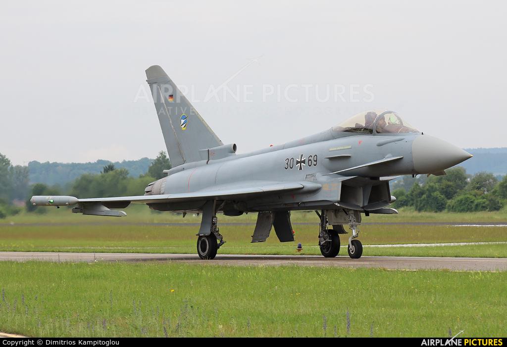 Germany - Air Force 30+69 aircraft at Neuburg - Zell
