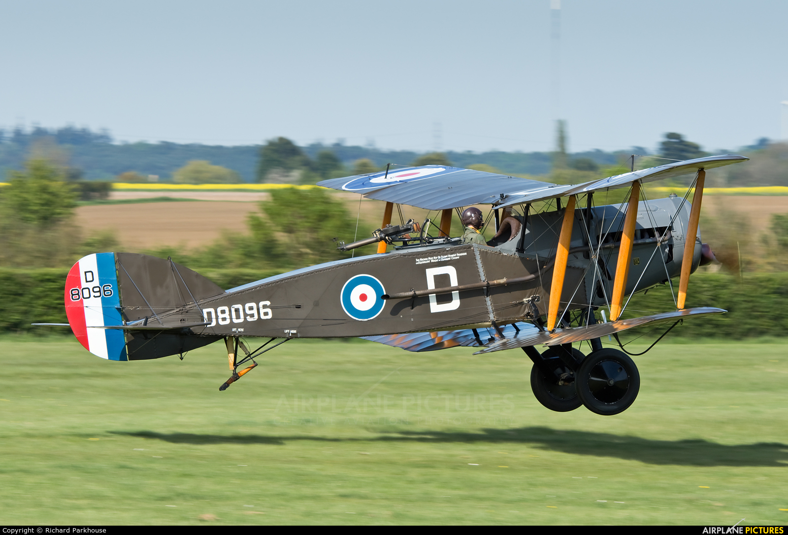 The Shuttleworth Collection G-AEPH aircraft at Old Warden