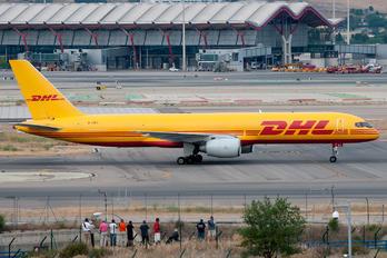 G-BIKC - DHL Cargo Boeing 757-200F